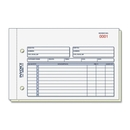 Rediform Invoice Form, 50 Sheet(s) - Stapled - 2 Part - Carbonless - 5.50