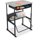 Safco AlphaBetter Desk, 28 x 20 Standard Top with Book Box, SAF1202BE