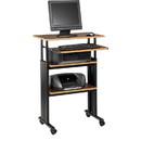 Safco Adjustable Stand-Up Workstation, Rectangle - 49
