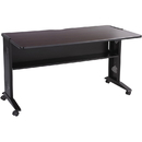 Safco Reversible Top Computer Desk, Rectangle - 28