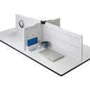Safco Hideout Privacy Panel Accessory Kit, SAF1942WH