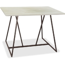 Safco Oasis Standing-Height Teaming Table, SAF3020WW