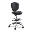 Safco Metro Extended Height Chair, Acrylic Black Seat - 26