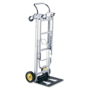Safco HideAway Convertible Hand Truck, 400 lb Capacity - 2 x 6