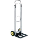 Safco Hideaway Compact Hand Truck, Folding Handle - 250 lb Capacity - 2 x 6