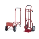 Safco Convertible Hand Truck, 600 lb Capacity - 2 x 4