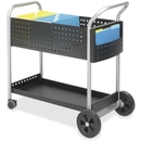 Safco Scoot Mail Cart, 3