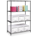 Safco Industrial Wire Shelving, 48