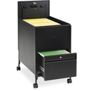 Safco Rollaway Mobile File Cart, 300 lb Capacity - 4 x 2