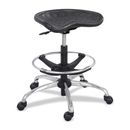 Safco Height Adjustable Stool, 250 lb Load Capacity - 27
