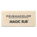 Prismacolor Magic-Rub Eraser, Lead Pencil Eraser - Non-smudge, Non-marring, Smear Resistant - Vinyl - 1Each - Gray
