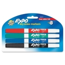 Expo Dry Erase Markers, Fine Marker Point Type - Point Marker Point Style - Assorted Ink - 4 / Pack
