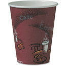 Solo Bistro Design Disposable Paper Cups, SCC378SI0041CT