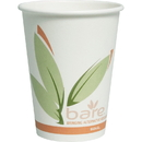 Solo Bare Paper Hot Cups, SCC412RCNJ8484