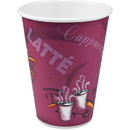 Solo Bistro Design Disposable Paper Cups, SCC412SIN0041CT