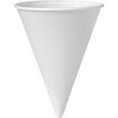 Solo 4oz Bare Paper Cone, SCC4BR2050PK