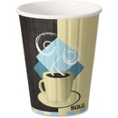 Solo Insulated Paper Hot Cups, SCCIC12J7534