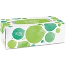 Seventh Generation 100% Recycled Facial Tissues, 2 Ply - 175 Sheets Per Box - 175 / Box - White - Paper