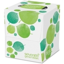 Seventh Generation 100% Recycled Facial Tissues, 2 Ply - 85 Sheets Per Box - 85 / Box - White - Paper