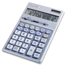 Sharp EL339HB Desktop Display Calculator, 12 Character(s) - LCD - Battery/Solar Powered - 6.9