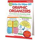 Scholastic Res. Grade K-2 Write/Wipe Reading Flip Chart, SHS0439827736
