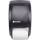 San Jamar Duett Standard Bath Tissue Dispenser, Roll - 12.8