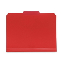 Smead 10501 Red Poly Colored File Folders, Letter - 8.50