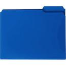 Smead 10503 Blue Poly Colored File Folders, 11.63