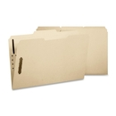 Smead 11537 Manila Fastener File Folders with Reinforced Tab, Letter - 8.50