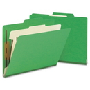 Smead 13702 Green Classification File Folders, Letter - 8.50