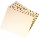 Smead 50176 Manila Guides with Alphabetic Indexed Sets, 25 x Tab - PrintedA - Z - 5 Tab(s)/Set - 8.50