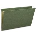 Smead 64110 Standard Green Hanging File Folders, Legal - 8.50