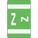 Smead 67196 Light Green AlphaZ ACCS Color-Coded Alphabetic Label - Z, 1