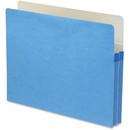 Smead 73215 Blue Colored File Pockets, Letter - 8.50