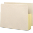 Smead 75164 Manila End Tab File Pockets with Reinforced Tab, Letter - 8.50