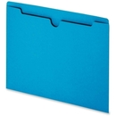 Smead 75502 Blue Colored File Jackets, Letter - 8.50
