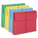 Smead 77251 Assortment Expanding Wallets with Elastic Cord, 9.50