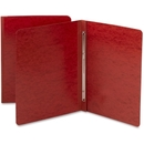 Smead 81252 Bright Red PressGuard Report Covers with Fastener, Letter - 8.50