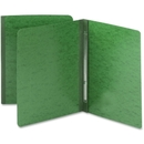 Smead 81452 Green PressGuard Report Covers with Fastener, Letter - 8.50