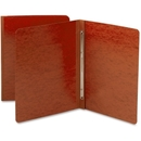 Smead 81752 Red PressGuard Report Covers with Fastener, 3
