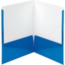 Smead High-Gloss Two-Pocket Folders, SMD87875