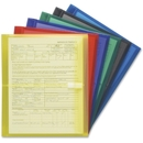 Smead 89669 Assortment Poly Envelopes with Hook-and-Loop Closure, Letter - 8.50