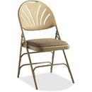 Samsonite XL Fanback Steel & Fabric Folding Chair (Case/4), SML516602900