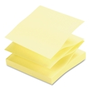 Sparco Pop-up Adhesive Fanfold Note Pad, Pop-up, Fanfold, Removable - 3