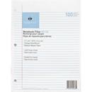 Sparco Notebook Filler Paper, 100 Sheet - 16 lb - College Ruled - Letter 8.50