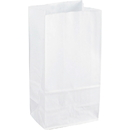 Sparco White Kraft Paper Bags, SPR99828