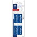 Staedtler Mars Plastic Eraser, Lead Pencil Eraser - Latex-free, Non-smudge, Tear Resistant, Smear Resistant - Vinyl - 0.5