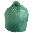 Stout EcoSafe Compostable Trash Bags, 64 gal - 60
