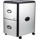 Storex Metal-clad Mobile Filing Cabinet, STX61351U01C