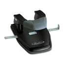 Swingline Comfort Handle Two-Hole Punch, 2 Punch Head(s) - 28 Sheet Capacity - 1/4